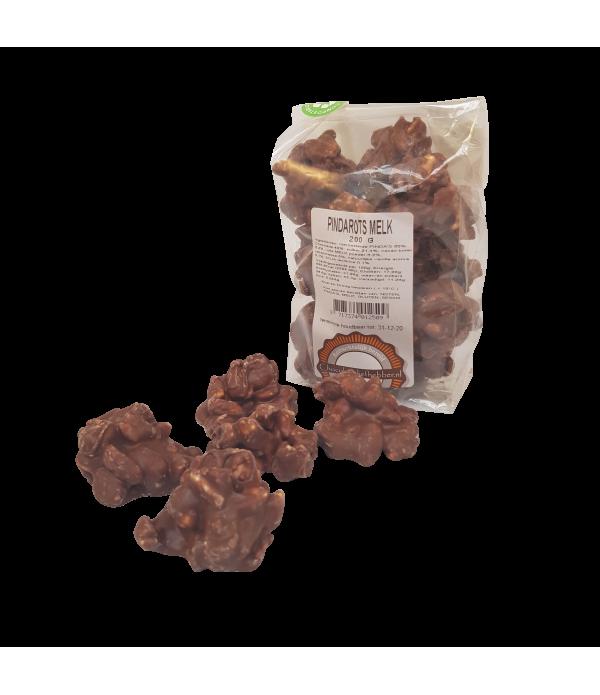 Pindarotsjes Chocoladeliefhebber melk 200 gram - z...