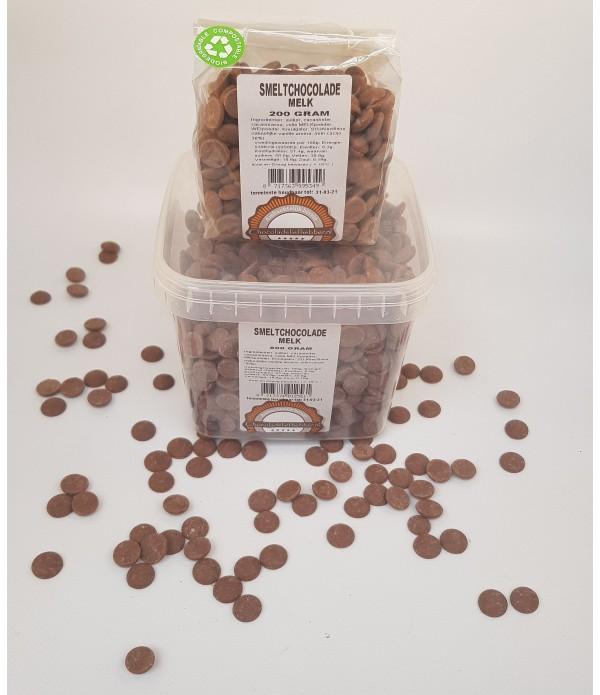 Smeltchocolade Callebaut melk - silo - 800 gram - ...