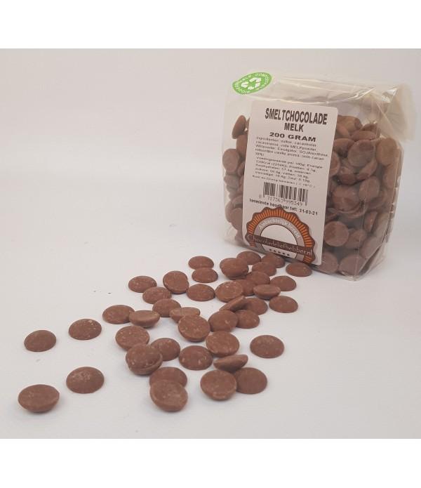 Smeltchocolade Callebaut melk - kruidenierszak - 2...