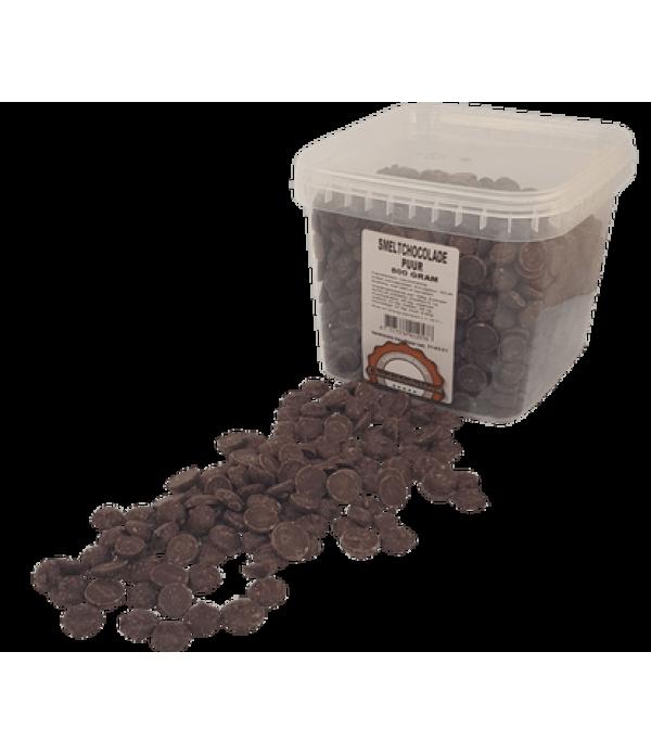 Smeltchocolade Callebaut puur - silo - 800 gram CH...