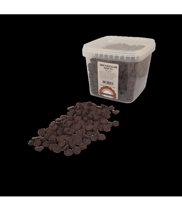 Smeltchocolade Callebaut 70 % puur - silo - 800 gr...