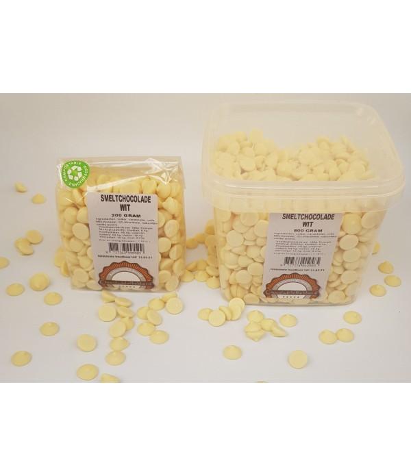 Smeltchocolade Callebaut wit - silo - 800 gram CHW