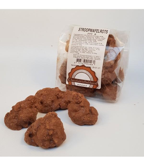Stroopwafelrots Chocoladeliefhebber melk 200 gram