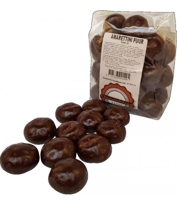 Amarettini's koekjes met pure Callebaut chocol...