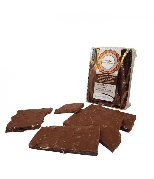 Breukplaat Chocoladeliefhebber Melk 300 gram - ...