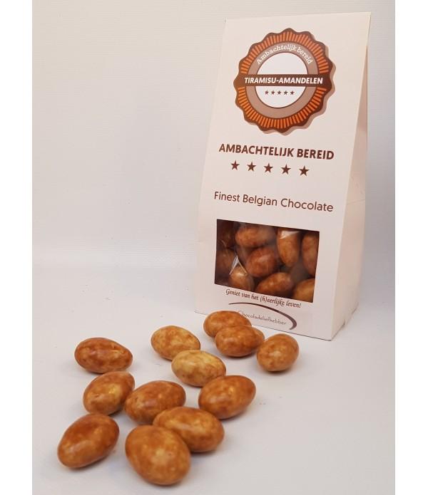 Tiramisu-amandelen Chocoladeliefhebber 180 gram ge...