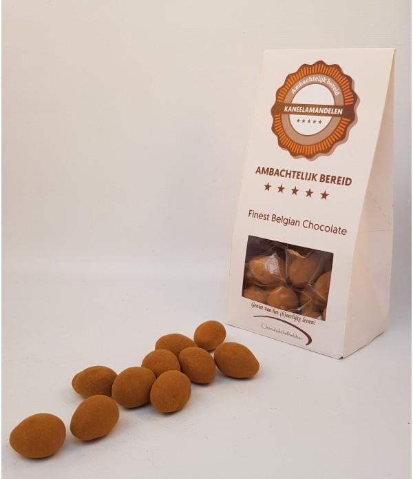 Kaneelamandelen Chocoladeliefhebber 180 gram gesch...