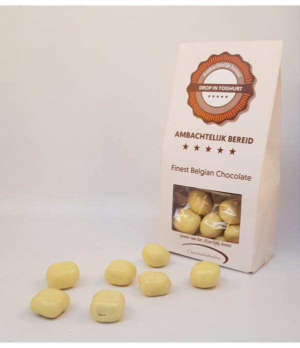 Drop in witte chocolade - Chocoladeliefhebber 180 ...
