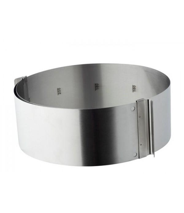 Adjustable Deeg ring 18/0 st