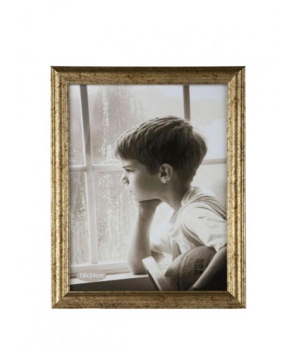 Fotolijst - PP - glas - Gold - Antique -  L 24,0cm...