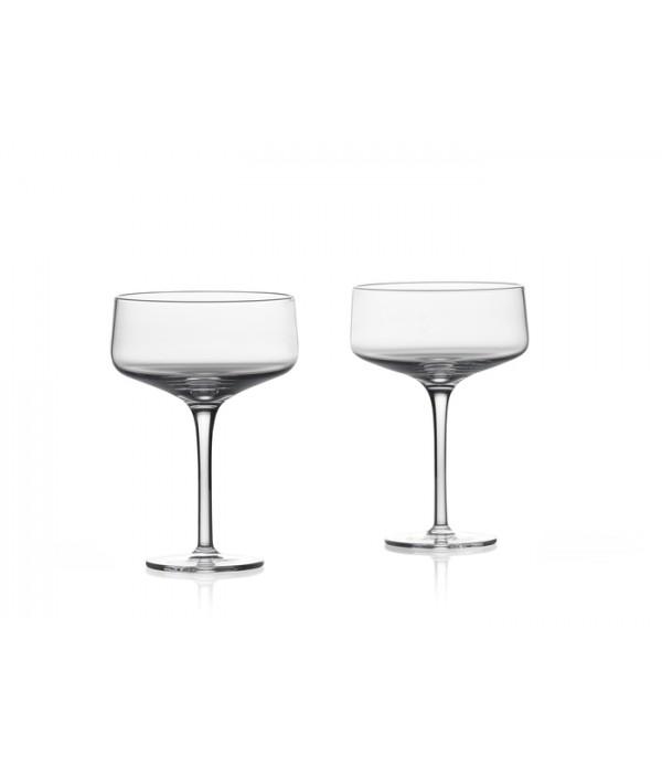 Coupe/Cocktail glas Rocks 13,5 cm 2stk