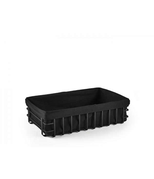 Broodmand - HOLM - 40x25x10 cm - Zwart