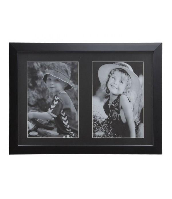 Fotolijst - KJ Collection Denmark zwart 25 x 18 cm