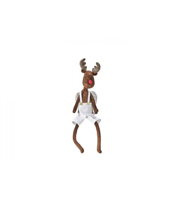 Figuur - Baby Eddie - Rudolf - Katoen - H35 cm