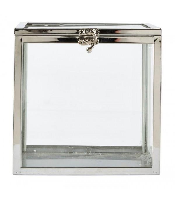 Box vierkant 20 cm Villa Collection Denmark - glas...