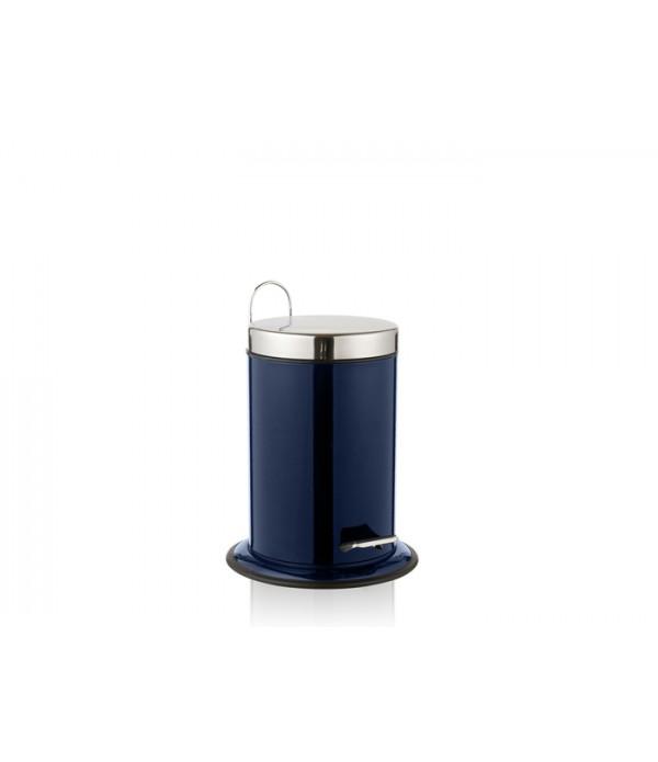 Pedaalemmer blauw 3 liter