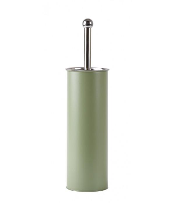 Toilet Borstel - metaal - Green - D 9,5cm -  H 37,...