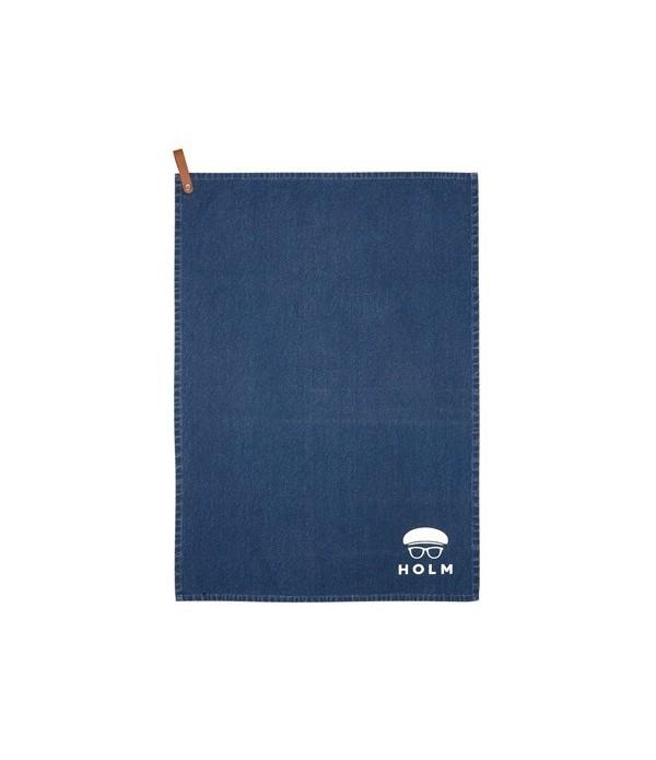 Theedoek 50x70 cm blauw HOLM