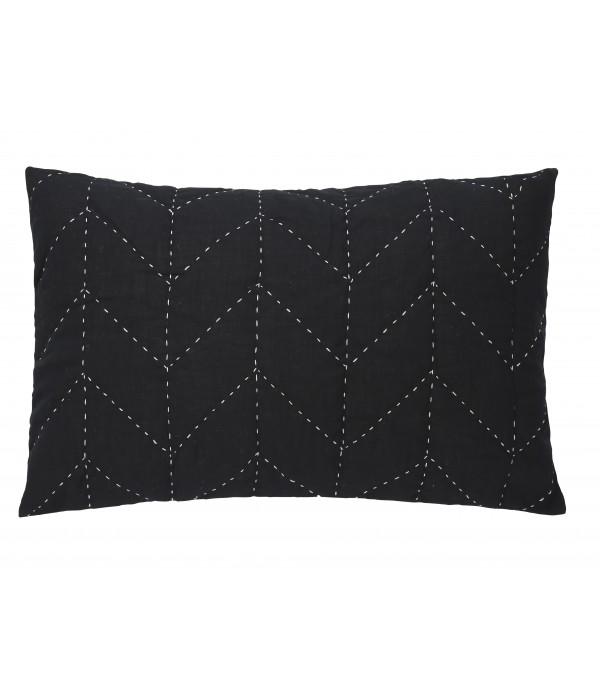Kussen Molly 40x60 cm zwart
