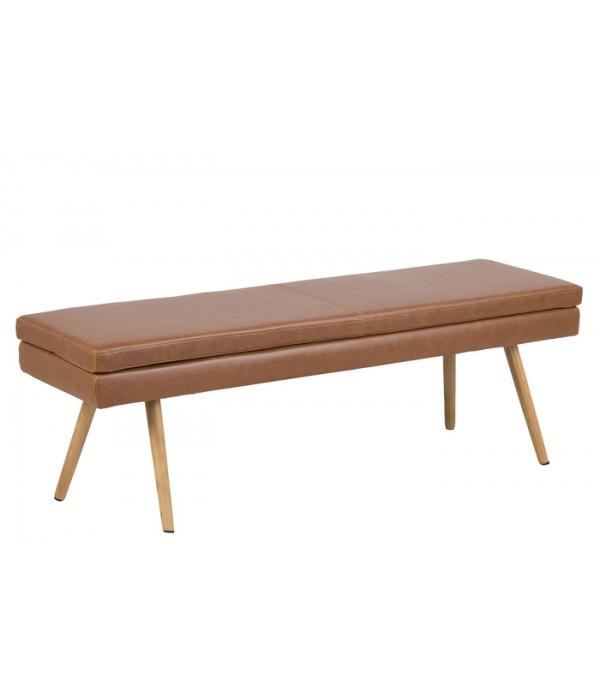 Bench  bruin - 40,5 x 140 x 47,5 cm
