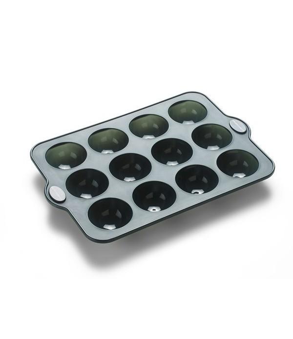 Chocolade vorm 12 vormen grijs silicone