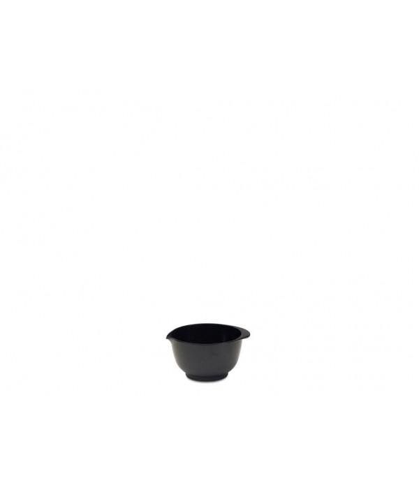 Beslagkom Margrethe 150 ml - zwart