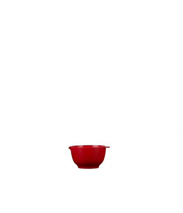 Beslagkom Margrethe 150 ml - luna rood