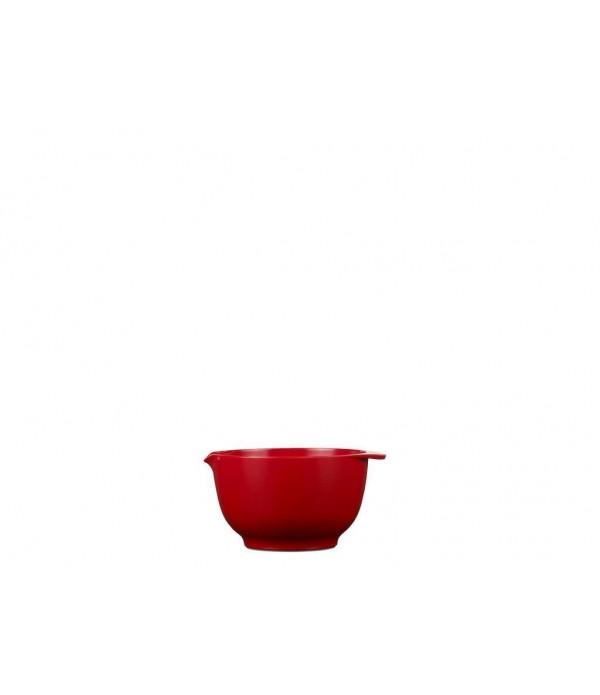 Beslagkom Margrethe 350 ml - luna rood