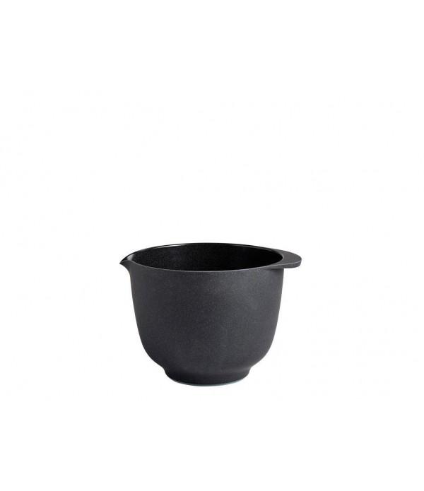 Beslagkom Margrethe 1.5 l - pebble zwart