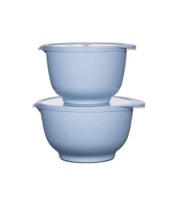 Beslagkom 2+3L met deksel blauw