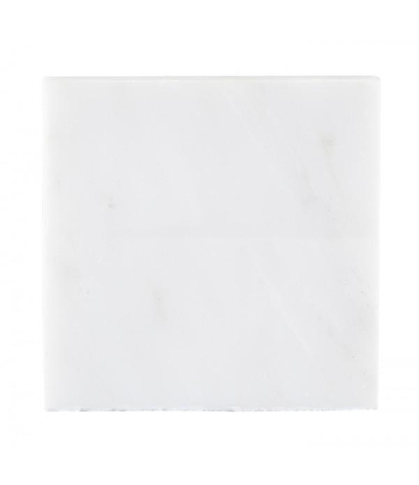Glasonderzetter Galzone Denmark - 10 x 10 cm - wit