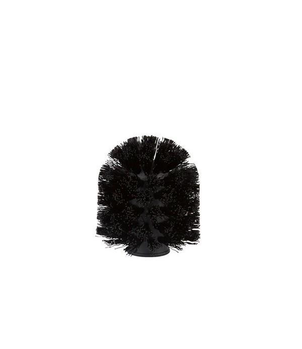 Toiletborstel 9861 kop - zwart voor Soft toiletbor...