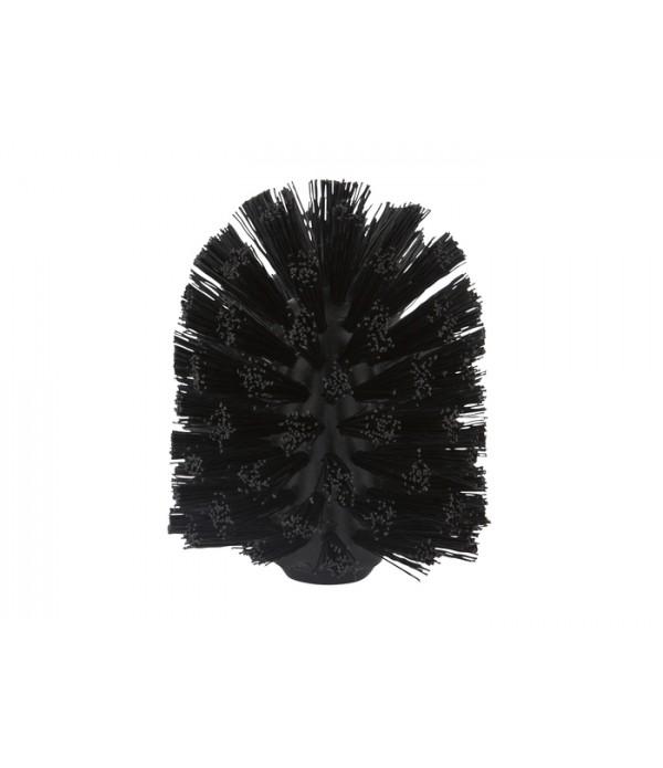 Toiletborstel kop - zwart voor Ume