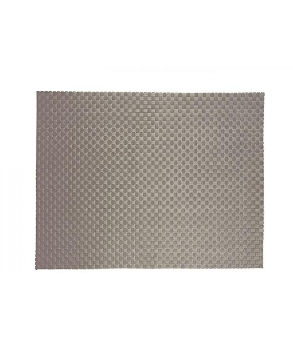 Placemat 322156 - zilver 40,0 x 30,0 cm