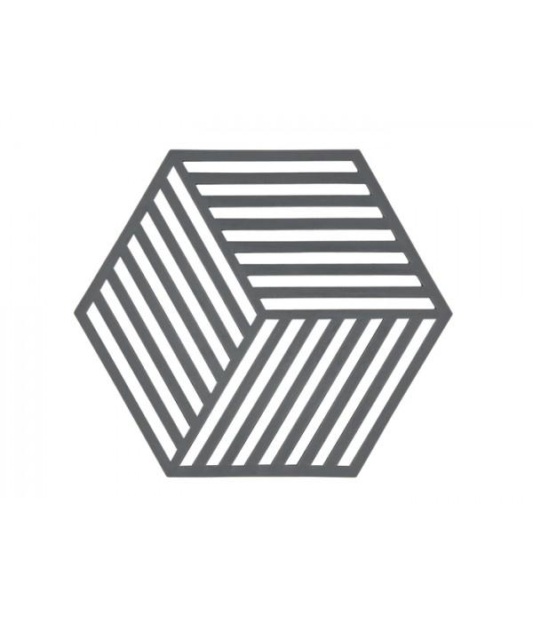 Onderzetter 352099 3D - Hexagon - warm grijs
