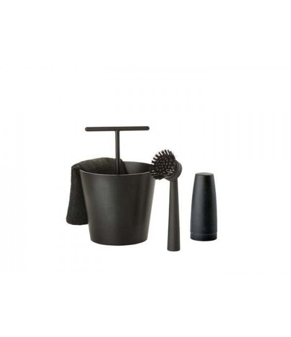 Keukenset 362106 - Zone Denmark - Splash - zwart -...