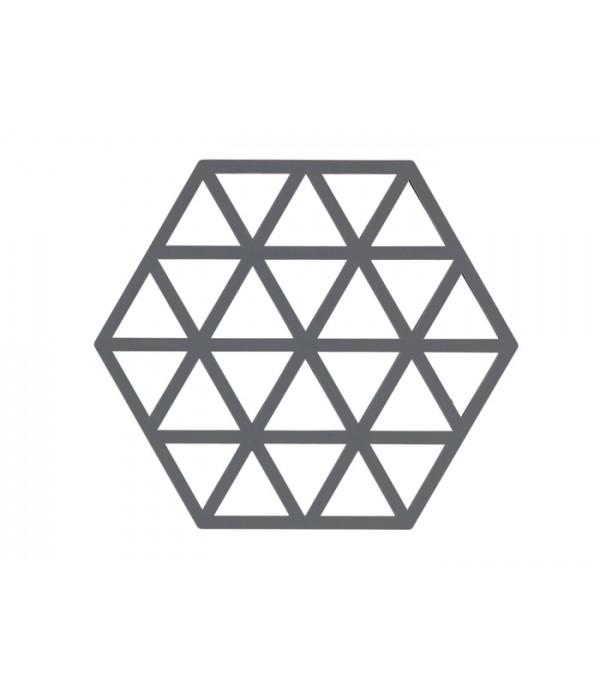 Onderzetter 371031 - TRIANGLES - cool grey