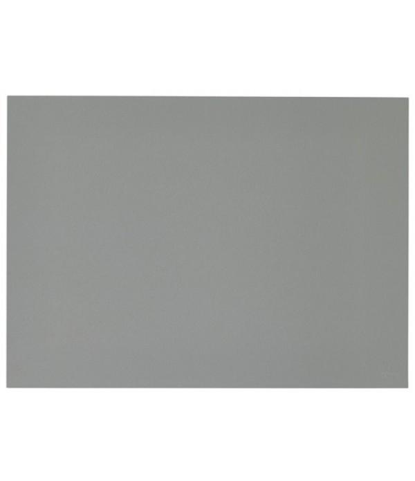 Placemat 371149 linoleum asgrijs 40 x 30