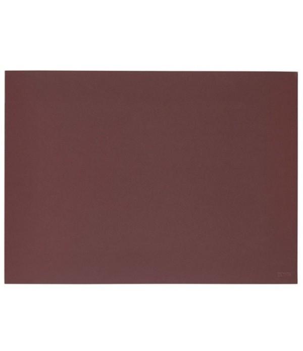 Placemat 371152 linoleum burgundy 40 x 30
