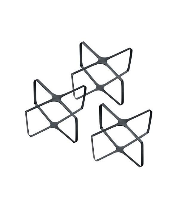 Rubber band 372034 - zwart - f. 12/16 cm