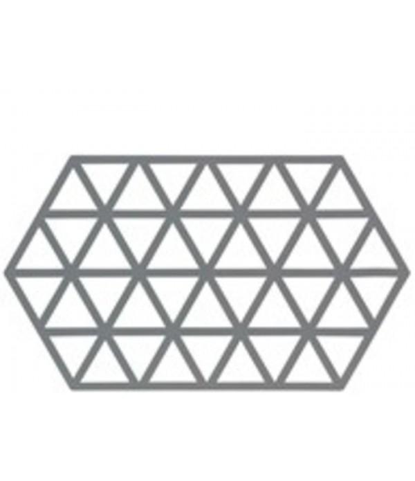 Onderzetter 372064 - TRIANGLES-Cool grijs - 24 x 1...