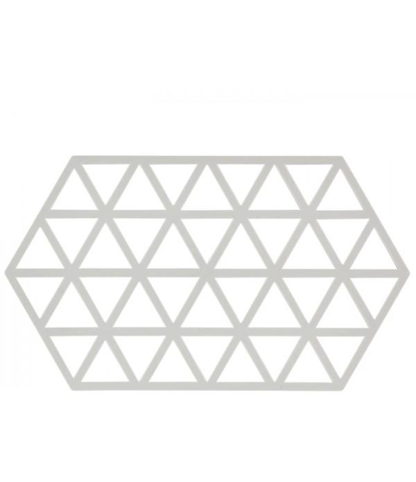 Onderzetter 372065 - TRIANGLES-Warm grijs - 24 x 1...