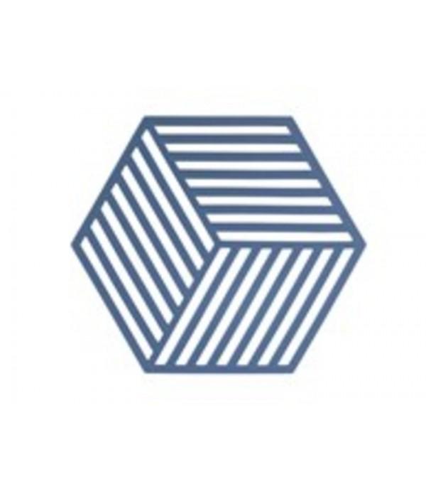 Onderzetter 381000 3D - Hexagon - denim