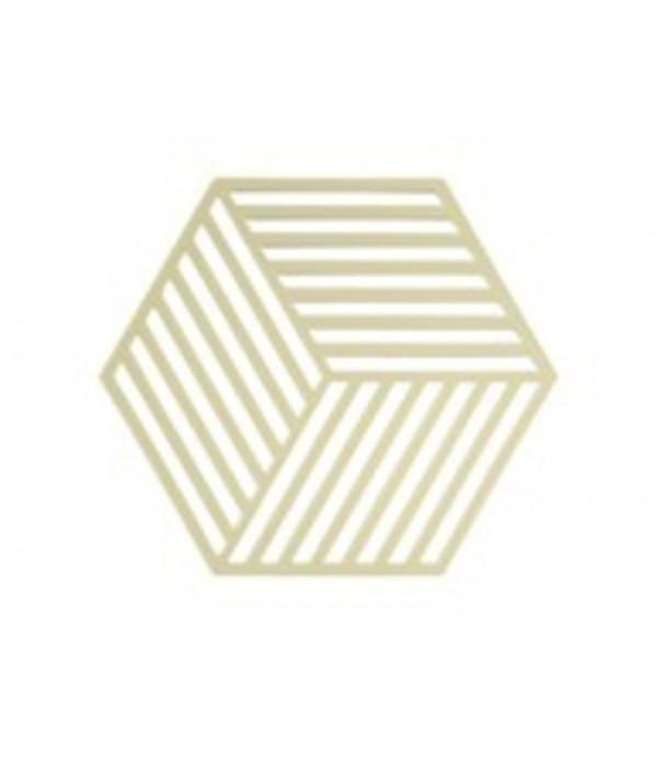 Onderzetter 381001 3D - Hexagon - limoen