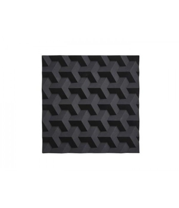 Onderzetter 381023 - zwart  Origami - Fold 16 x 16...