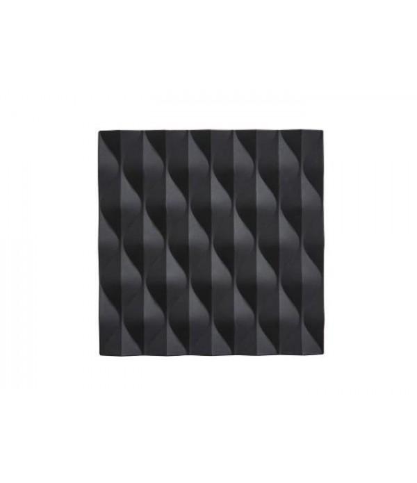 Onderzetter 381027 - zwart  Origami - Wave 16 x 16...