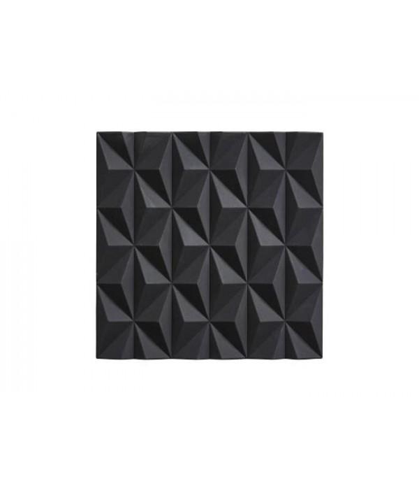 Onderzetter 381031 - zwart  Origami - Beak 16 x 16...