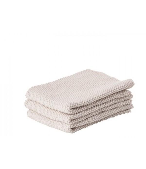Keukendoekje 381091 - Warm grijs - set van 3