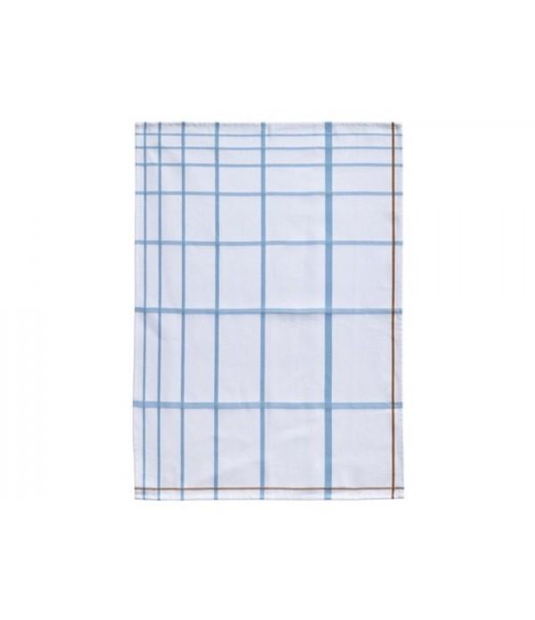 Theedoek 381099 - wit - blauw