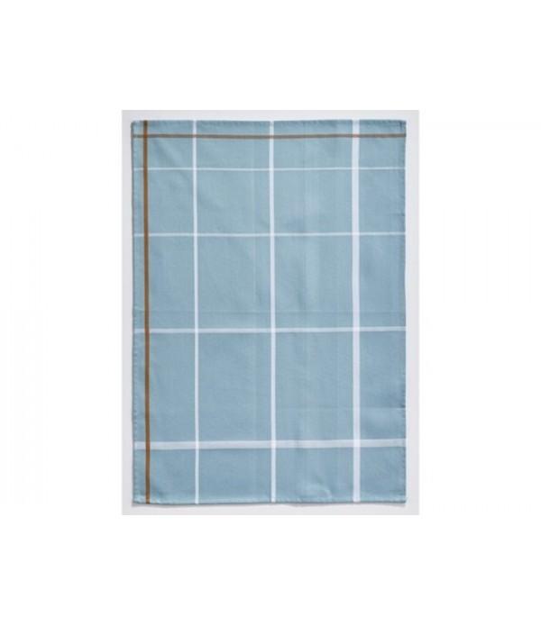 Theedoek 381100 - blauw - wit